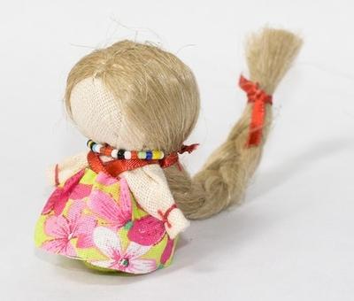 Кукла оберег с косой своими руками