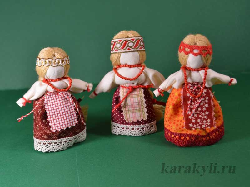 Тряпичные народные куклы своими руками