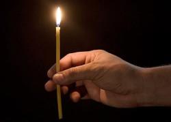 проверирть порчу церковной свечей
