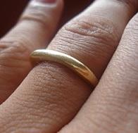 проверить сглаз зотоым кольцом