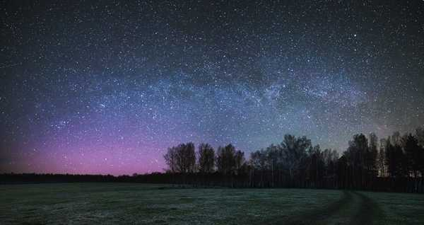 майское ночное небо