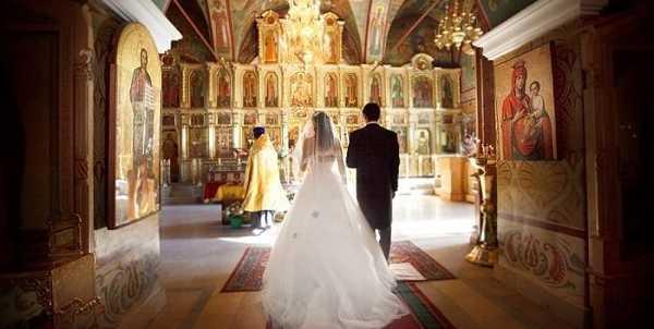 венчание в июне