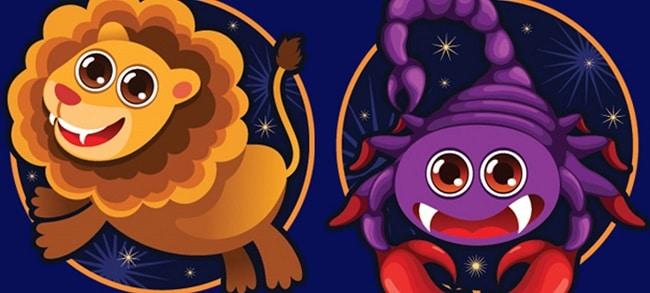 Лев и скорпион - совместимость этих знаков зодиака