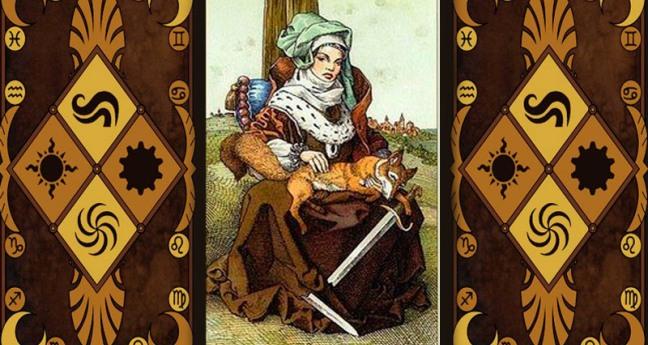 Значение карты королева мечей в таро