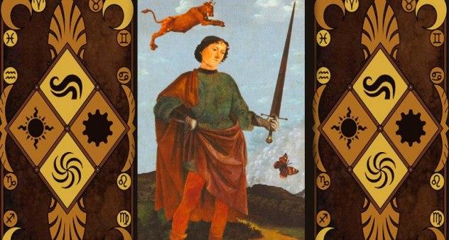 Значение пажа мечей в Таро