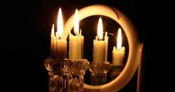 свечи зеркало