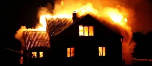 горящий дом во сне