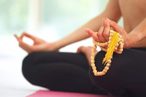 поза при медитации