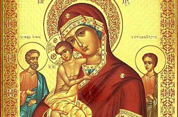 молитва иконе трех радостей