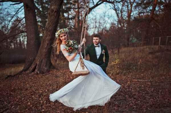 свадьба в ноябре фото