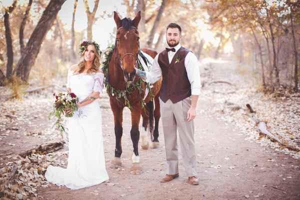 фото свадьбы в ноябре